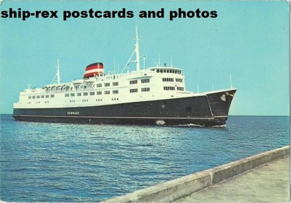 DANMARK (1968, Danish State Railways) postcard (a2)